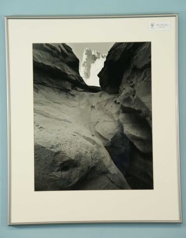"15: WALTER NELSON ""BLACK ROCK/WHITE FORMATION"" PHOTO"