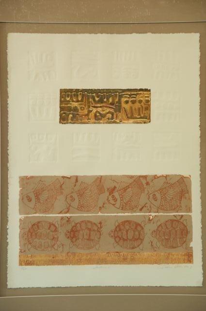 "157: CYNTHIA DECEMBER ""TULUM"" LITHOGRAPH #19/200 - 2"