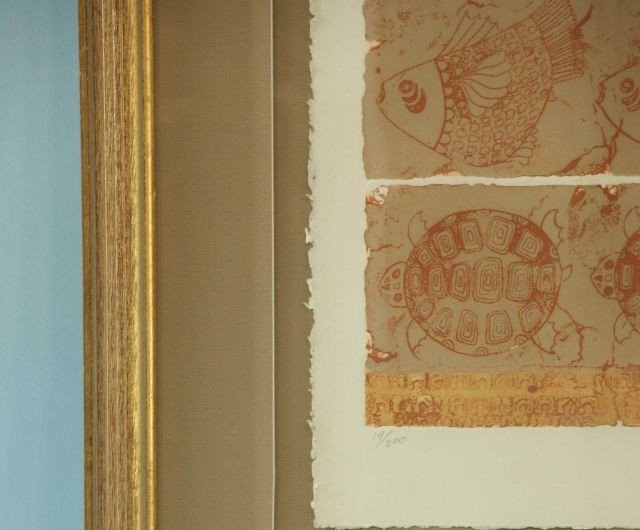 "157: CYNTHIA DECEMBER ""TULUM"" LITHOGRAPH #19/200 - 3"