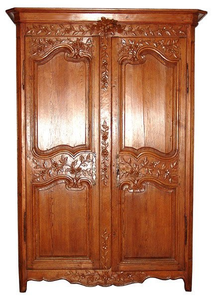 7: Fantastic French Armoire With Nice Carvings