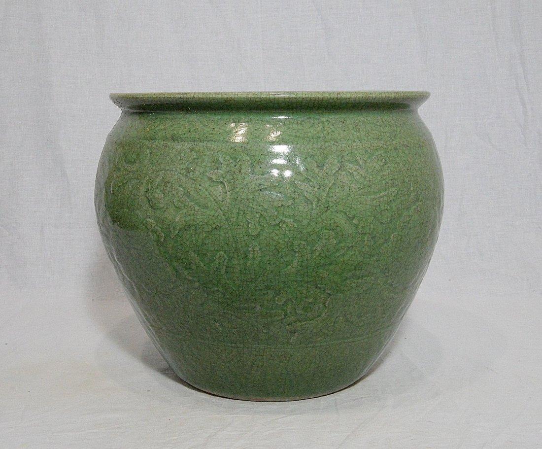 Chinese Celadon Porcelain Jar