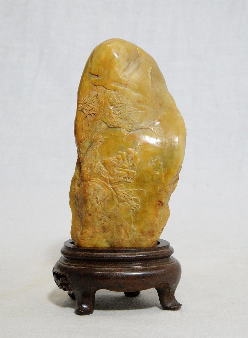 Very Nice Hand Carved Chinese Changhua Tianhuang Stone