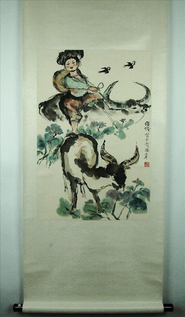 1: Chinese  Scroll  Painting