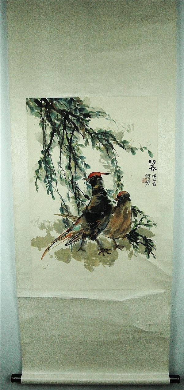 3: Chinese  Scroll  Painting