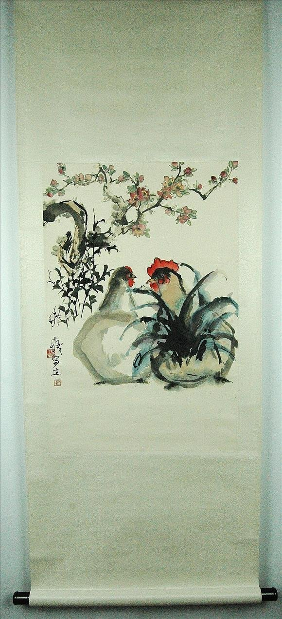 6: Chinese  Scroll  Painting