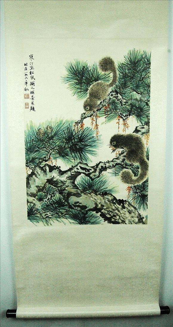 8: Chinese  Scroll  Painting