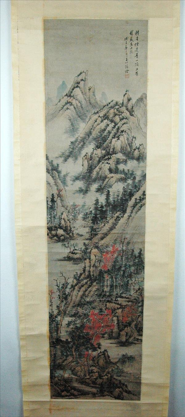 9: Chinese  Scroll  Painting