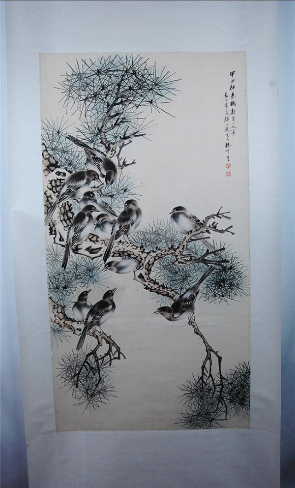 11: Chinese  Scroll  Painting