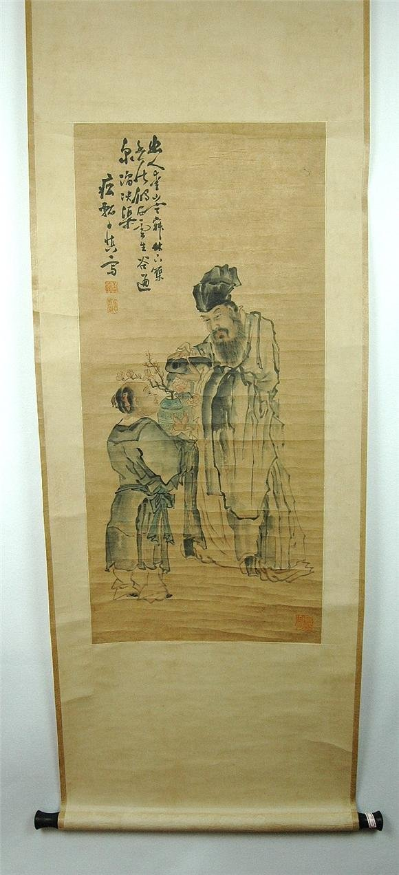 13: Chinese  Scroll  Painting