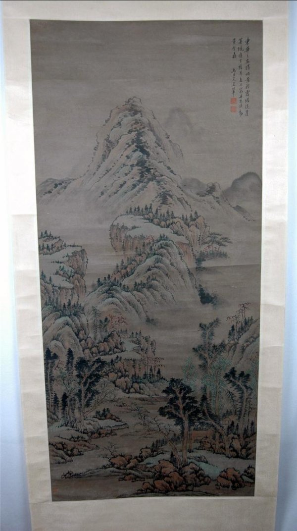 19: Chinese  Scroll  Painting