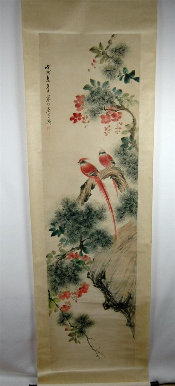 24: Chinese  Scroll  Painting