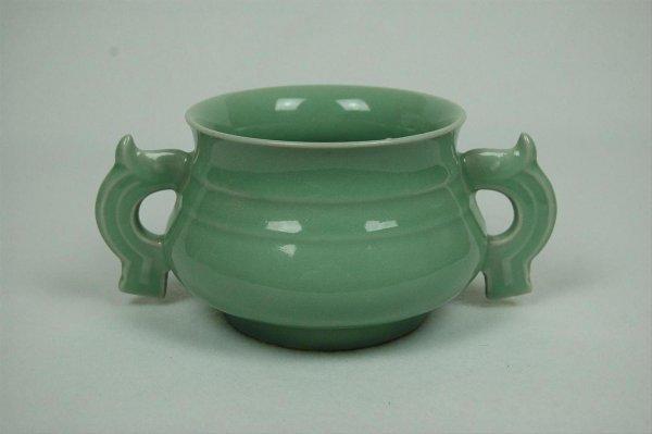 2012: Glazed  Celadon  Porcelain  Cencer