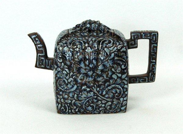 4011: Chinese  Ceramic  Teapot