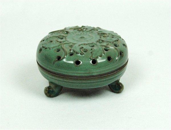6015: Glazed  Celadon  Porcelain  Cencer