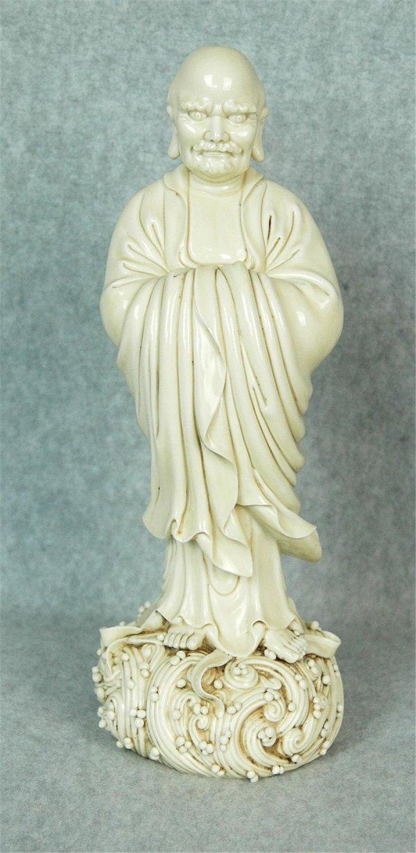 6021: Chinese Blanc de Chine  Da-Mo  Figure