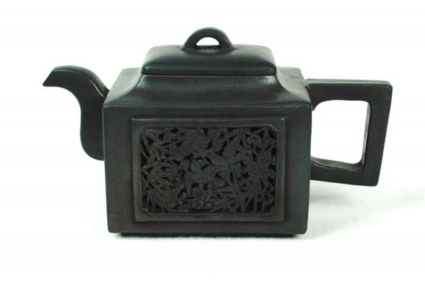 1506: Chinese  Ceramic  Teapot  with  mark.
