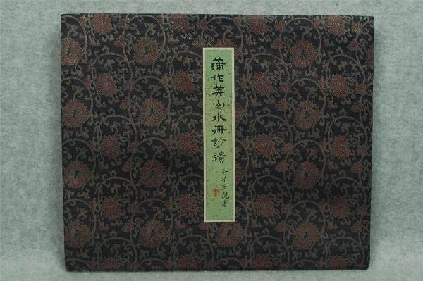716: Chinese  Paintings  Album