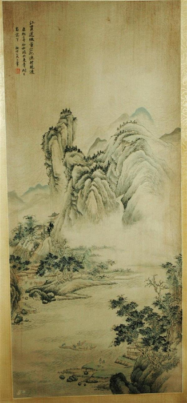 939: Chinese hanging scroll painting