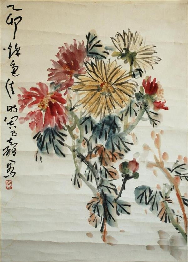948: Chinese hanging scroll painting