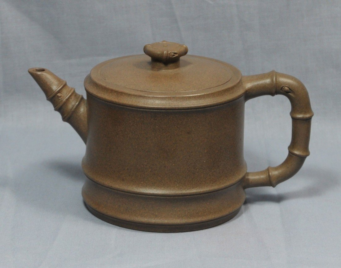 2174: Chinese  Ceramic  Teapot  with  mark