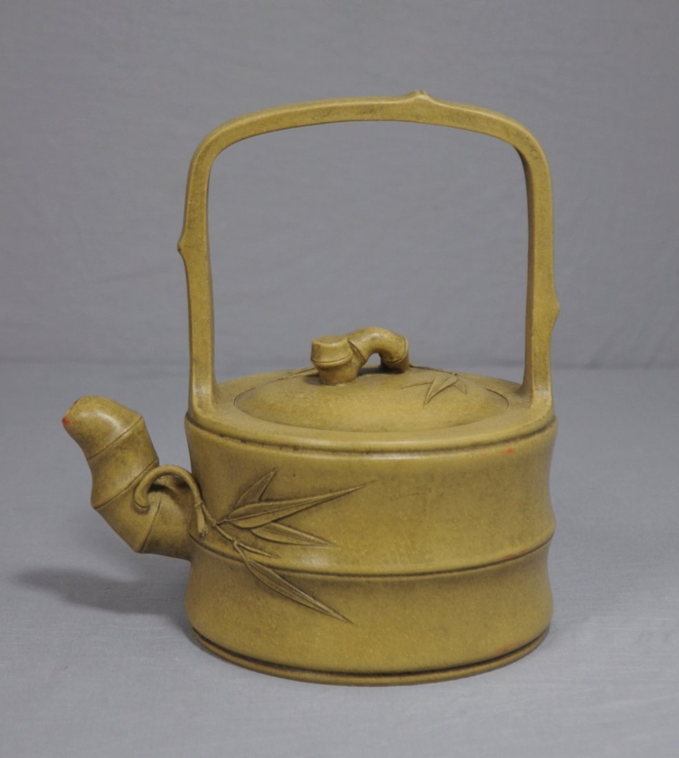 3099: Chinese Ceramic Teapot with mark