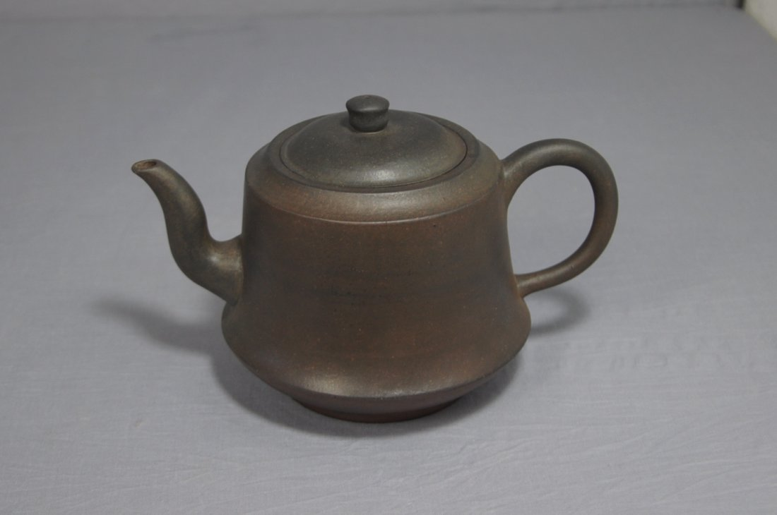3105: Chinese Ceramic Teapot with mark