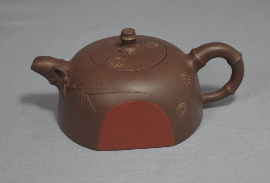 3108: Chinese Ceramic Teapot with mark