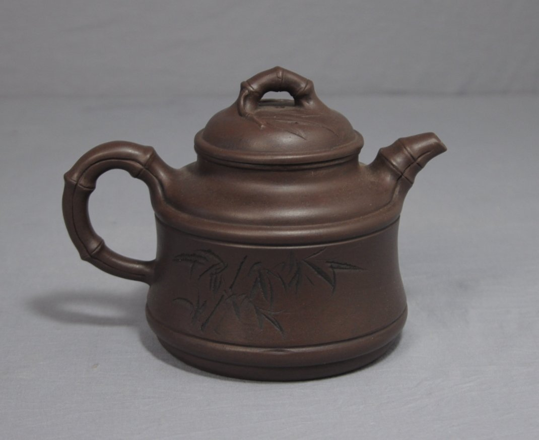 3114: Chinese Ceramic Teapot with mark