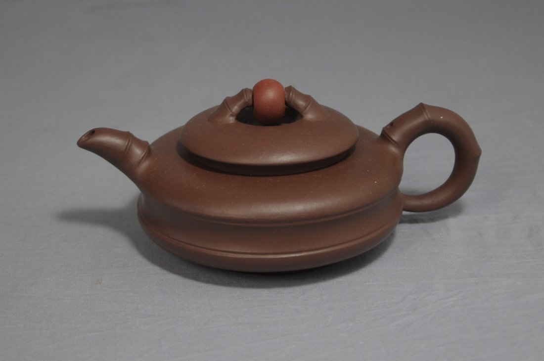 3118: Chinese Ceramic Teapot with mark
