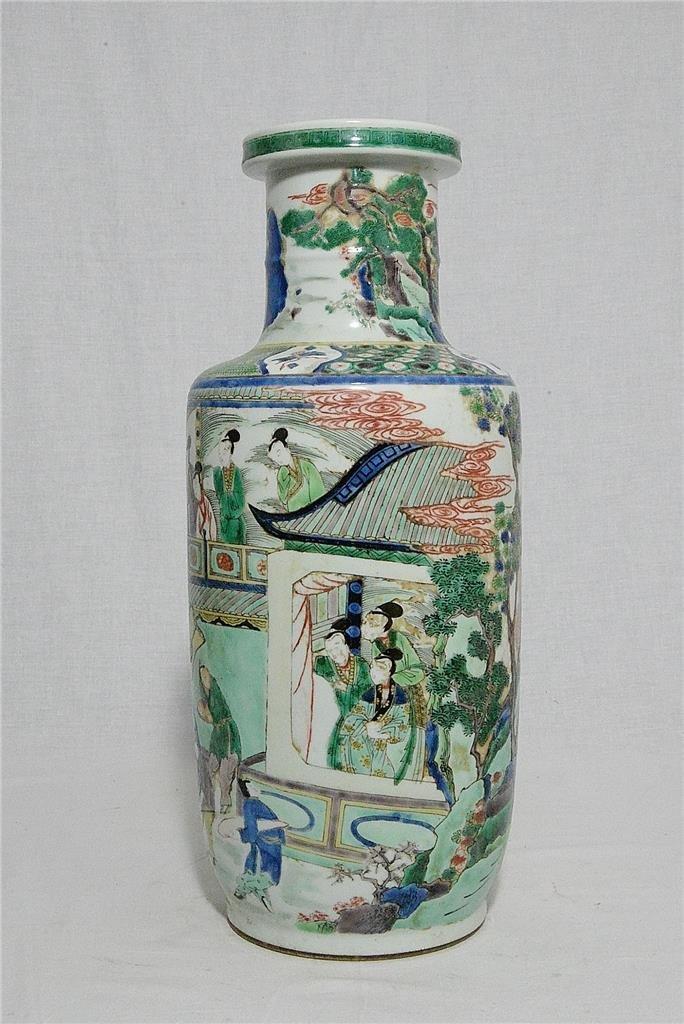 Chinese Wu-Cai Porcelain Vase