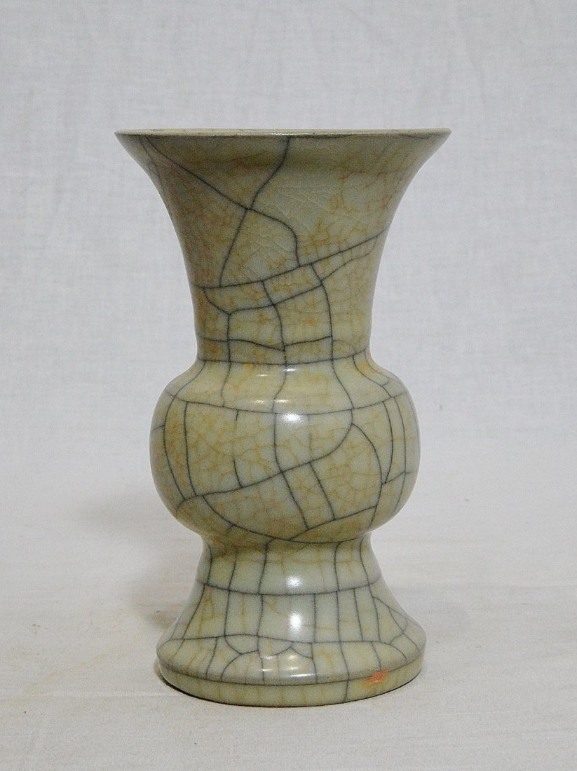 Chinese Celadon Crackle Porcelain Vase