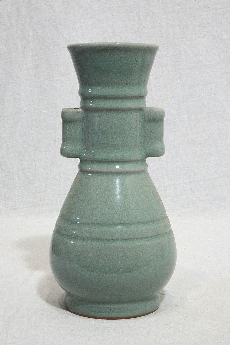 Chinese Monochrome Glaze Porcelain Vase