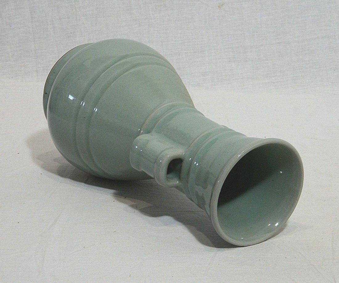 Chinese Monochrome Glaze Porcelain Vase - 5
