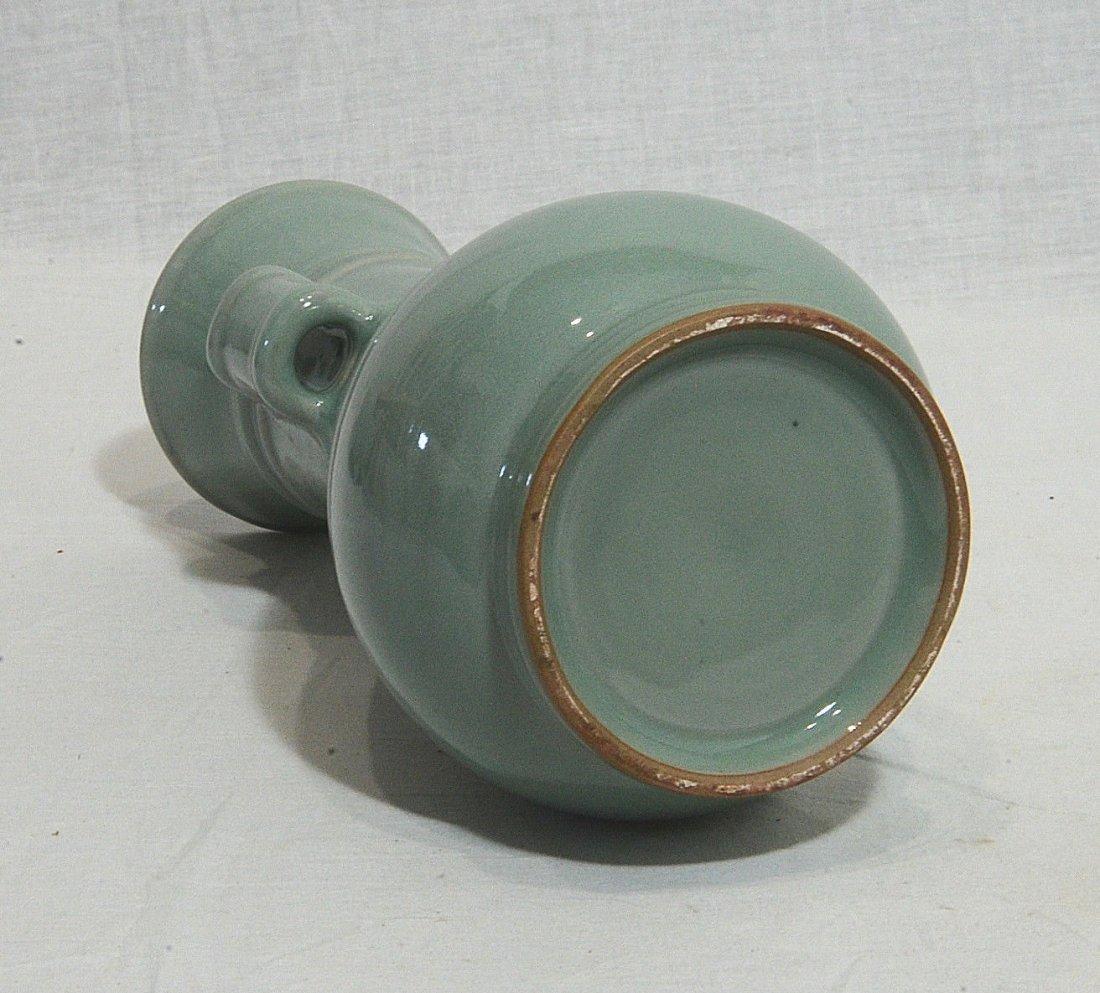 Chinese Monochrome Glaze Porcelain Vase - 6