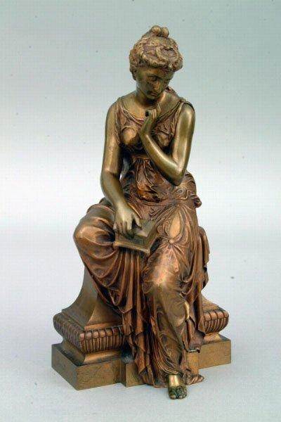 "3: ""Pandora"" Sculpture, circa 1900"