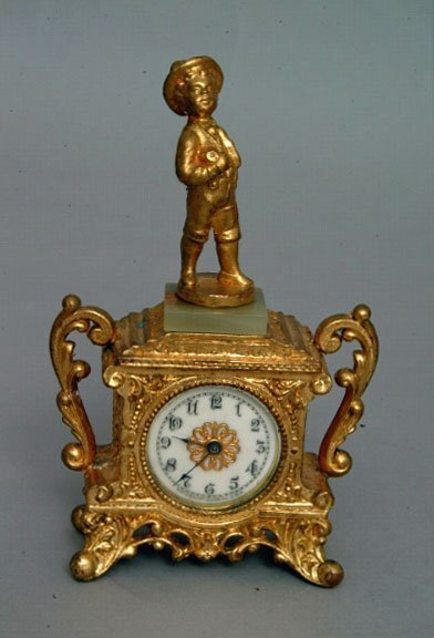 8: Waterbury Urchin Novelty Clock, c. 1906
