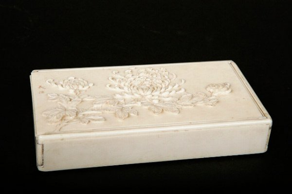 21: Japanese Ivory Cigarette Case, late 19th c.