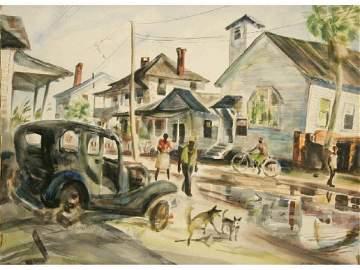 151: Willard Coombes, Watercolor