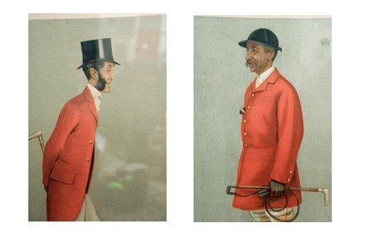 400: Pair Hunt Subject Spy Prints for Vanity Fair