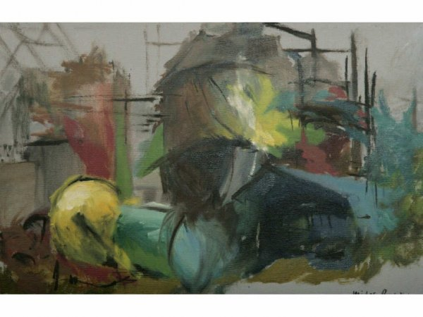 404: Midge Burkons Painting, The Flats