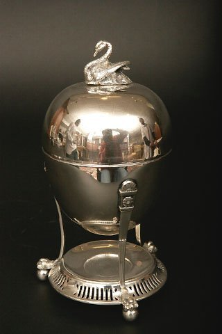 415: Victorian Silverplate Egg Coddler