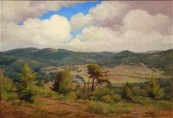 93: W.P. Cleaves, 19th c. Painting