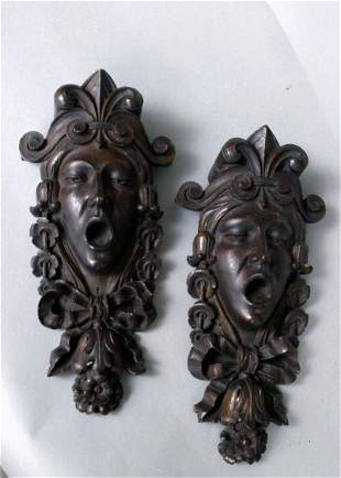 19th c. Architectural Masks
