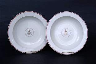 Pr. Wedgwood Armorial Soups