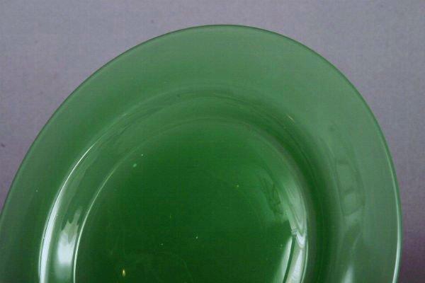37: Two Steuben Jadeite Plates - 4