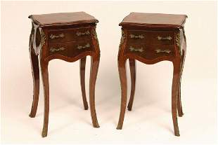 Pair French Louis XV Style Stands