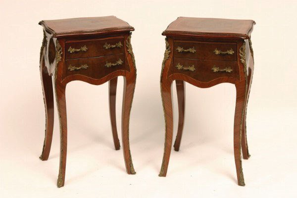 7: Pair French Louis XV Style Stands