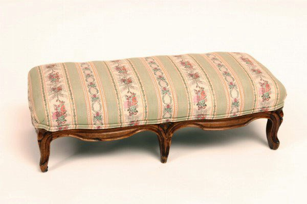 9: French Provincial Style Footstool