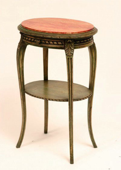10: Louis XV Style Side Table, c. 1920