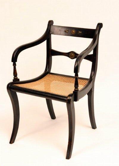 11: Regency Style Arm Chair
